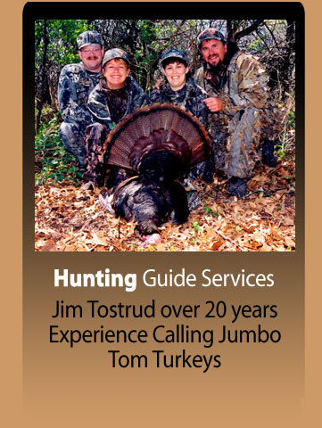 Jim Tostrud Full time, licensed guide